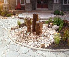 Creative landscaping in Ottawa