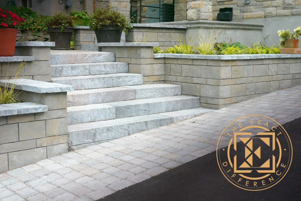 Interlock Steps in Ottawa - Exact Difference