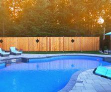 Pool landscaping in Kemptville/Ottawa area