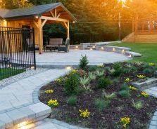 Luxury landscaping - Kemptville backyard