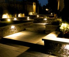 Landscape lighting for pathway in Barrhaven - By Exact Landscapes