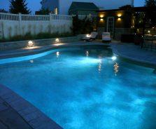 Landscape and pool lighting in Barrhaven