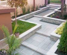 Stonebridge Grand Entrance and Walkway by Exact Landscapes