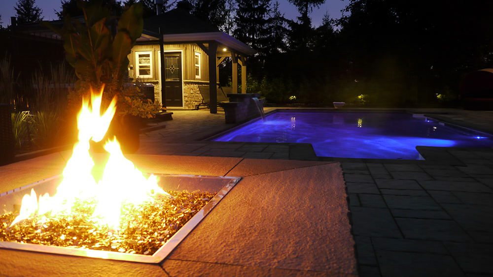 Fire Pit Landscaping - Exact Landscapes Ottawa