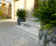 Contemporary Driveway Landscaping in Ottawa