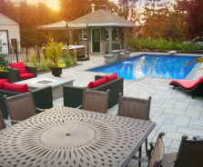 Outdoor Living Space by Exact Landscapes Ottawa