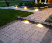 Walkway landscaping by Exact Landscapes Ottawa